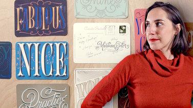 Los secretos dorados del lettering. Un curso de Caligrafía y Tipografía de Martina Flor