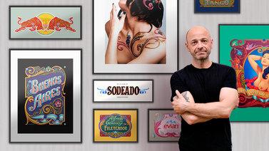 Fileteado porteño: ilustración y ornamentación de carteles. Un curso de Ilustración de Alfredo  Genovese