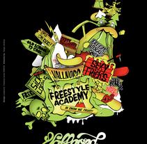 Vallnord Freestyle. A Illustration project by Sergio Jiménez - Jun 18 2009 02:20 PM