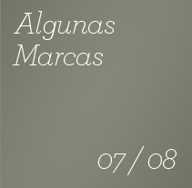 Algunas Marcas - 2007 / 2008. A Design project by Rafael  Ruiz Casares - Jul 14 2009 11:43 AM