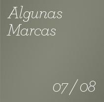 Algunas Marcas - 2007 / 2008. Un proyecto de Diseño de Rafael  Ruiz Casares - Martes, 14 de julio de 2009 11:43:07 +0200