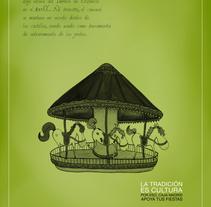 Caja Madrid con las fiestas populares. Un proyecto de Ilustración de Itziar San Vicente - 16-07-2009