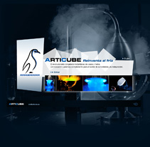 Articube | Sitio web. A Design, and Software Development project by Eloy Ortega Gatón - 17-07-2009