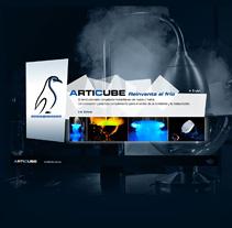 Articube | Sitio web. A Design, and Software Development project by Eloy Ortega Gatón - Jul 17 2009 05:32 PM