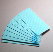 Tarjetas Zboada. Un proyecto de Diseño de Carlos Taboada - Domingo, 19 de julio de 2009 16:50:05 +0200