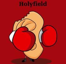 Tyson Vs Holyfield. Un proyecto de Ilustración de Eduardo Fuente Martínez - 21-07-2009