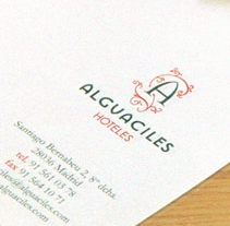 Alguaciles Hoteles. A Design project by Tea for two Comunicación gráfica         - 18.08.2009
