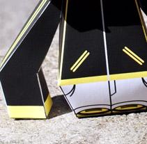 Paper Toy. Um projeto de Design, Ilustração, Publicidade e Fotografia de Quim Mirabet López         - 05.11.2009