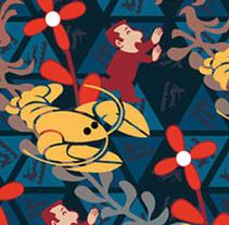 Mosaicos, Unzipping Codes. A Design&Illustration project by Chema Longobardo Polanco - 25-11-2009