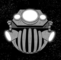 Pluton B.R.B Nero  COMIC. A Design, Illustration, Film, Video, TV, and 3D project by Rafael Carmona - Feb 04 2010 05:46 PM