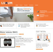 Web Luxum.es. A Design, Illustration, UI / UX, IT, and Photograph project by Sergio Albors - Jan 23 2010 03:52 PM