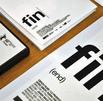 FIN. Un proyecto de Diseño, Cine, vídeo y televisión de Joel Lozano - Jueves, 28 de enero de 2010 19:59:35 +0100