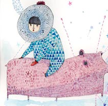 Winter. A Illustration project by amaia arrazola - Feb 02 2010 04:20 PM