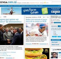 LA PRENSA. A Design, Software Development, UI / UX&IT project by quintajose         - 04.02.2010