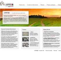 Web AEMINA. A Design, and Software Development project by seven  - 12-02-2010