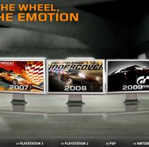 Video Games Seat. Um projeto de Publicidade, Motion Graphics, Desenvolvimento de software e Informática de juanan jimenez - 15-03-2010