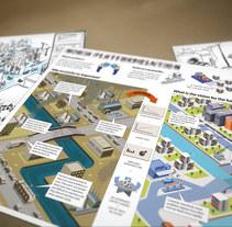 Infografía. Un proyecto de Diseño, Ilustración, Publicidad y UI / UX de Ben Galvin         - 18.03.2010
