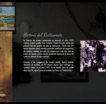 Restaurante Ropiti. Un proyecto de Diseño de Adrian Rueda - Domingo, 25 de abril de 2010 23:36:31 +0200