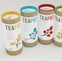 Teapot Packaging. Un proyecto de Diseño, Ilustración, Publicidad y 3D de Nadia Arioui  - 03-05-2010
