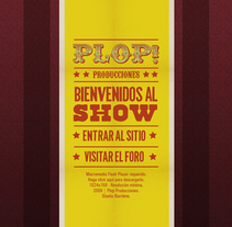 Plop! Producciones. A Design, Software Development, IT, and Advertising project by Barrilete - 05.19.2010