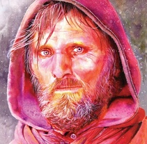 Viggo Mortensen. A Illustration project by José Manuel Hortelano-Pi - Jun 01 2010 01:09 PM