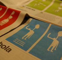 ilustraciones periódico. Un proyecto de Diseño e Ilustración de Eva Cruz - 07-06-2010