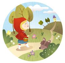 Cuentos clásicos. Un proyecto de Ilustración de Natalia Rey - Miércoles, 16 de junio de 2010 10:47:23 +0200