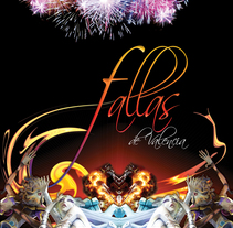Folleto para Fallas de Valencia. A Design, and Advertising project by Gabriel Serrano - 17-06-2010
