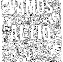 Vamos al lío . A Design&Illustration project by Celsius Pictor  - Jun 24 2010 07:43 PM