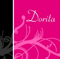Tarjetas de visita de Dorita. Un proyecto de  de Ana Fandiño Fdez.         - 28.06.2010