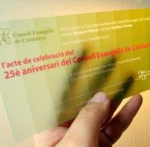 Papelería Global Evento: 25 aniversari CEC. Un proyecto de Diseño y Publicidad de Nadie Diseña - 27-07-2010