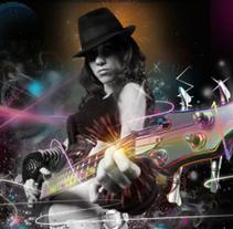 Woman guitar. Um projeto de Design e Ilustração de Susana García Montes - 03-08-2010