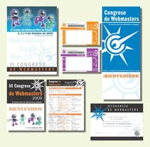 Cartelería Congreso Webmasters. A Design, Illustration, and Advertising project by SUSANA FOLGADO - Aug 05 2010 08:50 PM