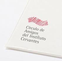 Círculo de Amigos del Instituto Cervantes. Un proyecto de Diseño e Instalaciones de ememinúscula Mercedes Díaz Villarías - 06-09-2010