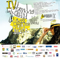 Cartel IV Jornadas de la Ciudad de Alicante. Um projeto de Design e Publicidade de Símbolo Ingenio Creativo         - 10.08.2010
