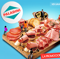 Disfrutemos juntos - Paladini - frigorífico. A Design, Illustration, Advertising, Music, Audio, Motion Graphics, Installations, Software Development, Photograph, Film, Video, TV, UI / UX, 3D&IT project by Juan Francisco Amézaga - 07-09-2010