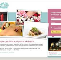 landing de captación generica. Un proyecto de Publicidad de Massimiliano Seminara - Jueves, 09 de septiembre de 2010 11:31:16 +0200