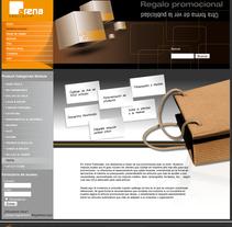 Diseño tienda on-line. Un proyecto de Diseño de Susana García Montes - 15-09-2010