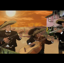 "Video Clip/ Sociedad Secreta ""La Bamba"". A Design, Illustration, Advertising, Music, Audio, Motion Graphics, Photograph, Film, Video, TV, UI / UX, and 3D project by luis miguel ruibal scholtz         - 27.09.2010"