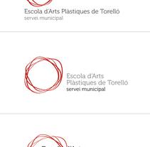 pruebas logo Escola d'Arts Plàstiques. Un proyecto de  de Jose Bautista Gallego - 03-10-2010