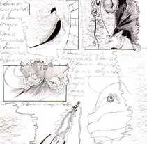 SILENCIOS COMPARTIDOS. A Illustration project by Laura Grisolía Bencivenni - 11-12-2010