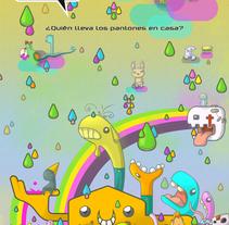 ¿Quien lleva los Pantone en casa?. A Illustration project by Herbie Cans - Oct 18 2010 01:50 PM