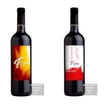 Proyecto Etiquetas Vino Tinto. A Design project by Giorgio D'Amico - 19-10-2010