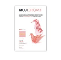 Cartel Muji Origami. A Design, and Advertising project by Laia Buerba Giralt         - 03.11.2010
