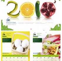 calendario mercado ermitagaña. A Design project by nkoart         - 08.11.2010