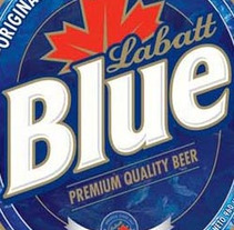 Blue Labatt. A  project by -EDG- - 22-11-2010