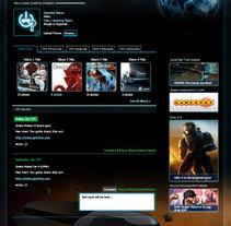 Gamitna Web. Um projeto de Design de Fida A.R - 25-11-2010