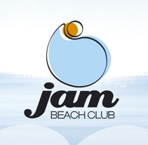 Jam Beach Club. A Design project by djb         - 26.11.2010