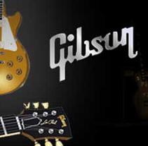 Guitarras Gibson. Um projeto de Design, Ilustração e Publicidade de Maria José Peña         - 28.11.2010