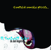Cartel El cantante calvo. A Design, and Advertising project by Emma Álvarez Manero         - 29.11.2010